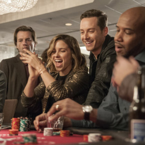 """CHICAGO P.D. -- """"Hit Me"""" Episode 313 -- Pictured: (l-r) Sophia Bush as Erin Lindsay, Jesse Lee Soffer as Jay Halstead -- (Photo by: Matt Dinerstein/NBC)"""