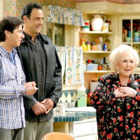Ray Romano, Brad Garrett and Doris Roberts in 'Everybody Loves Raymond.' Gale M. Adler/CBS via Getty Images