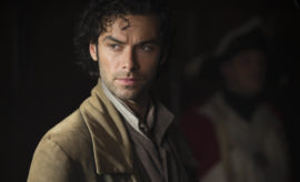 Poldark, Season 2  MASTERPIECE on PBS  Episode One | Sunday, September 25th at 8pm ET on PBS | George rolls out plan A to take care of Ross once and for all. Ross resists all attempts tosave him. Francis takes a desperate step. Demelza tries to influence a hanging judge.  Shown: Aidan Turner as Ross Poldark  (C) Adrian Rogers/Mammoth Screen for BBC and MASTERPIECE