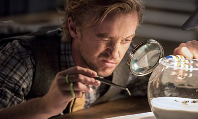 "The Flash -- ""Paradox"" -- Image: FLA302b_0244b.jpg -- Pictured: Tom Felton as Julian Albert -- Photo: Dean Buscher/The CW -- © 2016 The CW Network, LLC. All rights reserved."