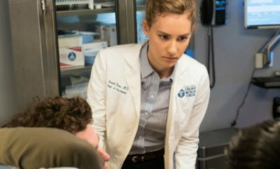 "CHICAGO MED -- ""Alternative Medicine"" Episode 206 -- Pictured: Rachel DiPillo as Sarah Reese -- (Photo by: Elizabeth Sisson/NBC)"