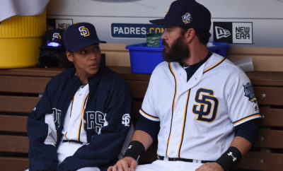 "PITCH: L-R: Kylie Bunbury and Mark-Paul Gosselaar in the all-new ""Scratched"" episode of PITCH airing Thursday, Dec. 1 (8:59-10:00 PM ET/PT) on FOX.CR: Ray Mickshaw / FOX. © 2016 FOX Broadcasting Co."