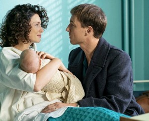 Claire and Frank with Baby