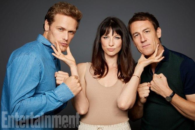 Sam, Cait and Tobias