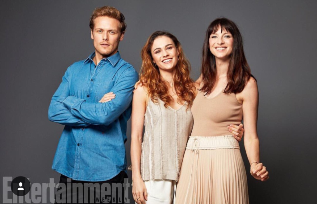 Sam, Sophie and Cait