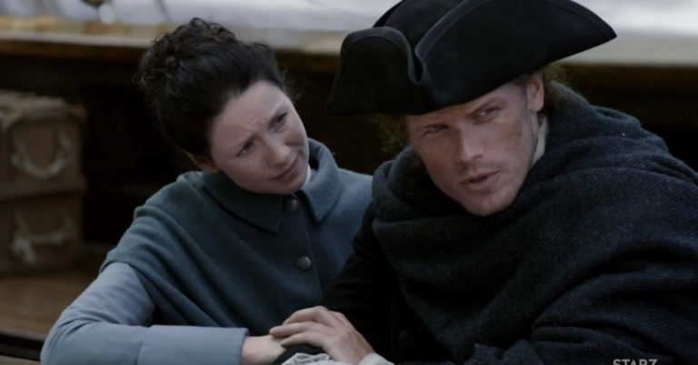 Jamie and Claire – Outlander