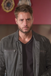 "THIS IS US -- ""Number Three"" Episode 210 -- Pictured: Justin Hartley as Kevin -- (Photo by: Ron Batzdorff/NBC)"