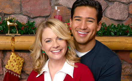 Melissa Joan Hart and Mario Lopez in Holida In Handcuffs