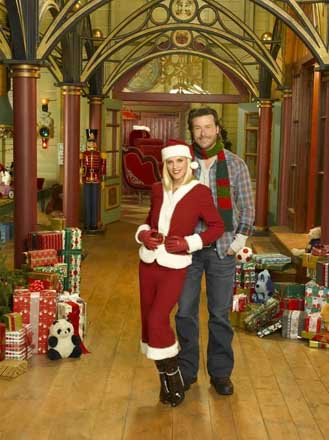 Jenny McCarthy and Paul Sorvino in Santa Baby 2:Christmas Maybe