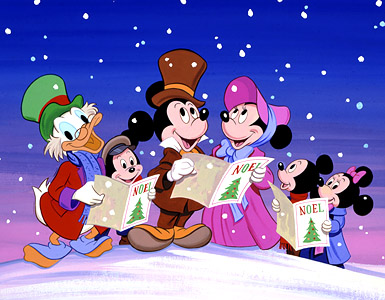 Christmas Carols on Mickey S Christmas Carol