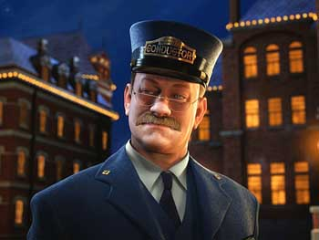 Tom Hanks is the Conductor of The Polar Express
