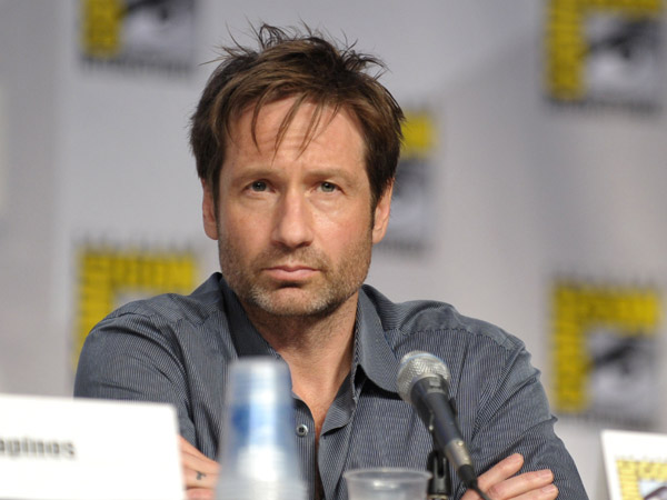 David Duchovny talks Californication at Comic Con July 2010